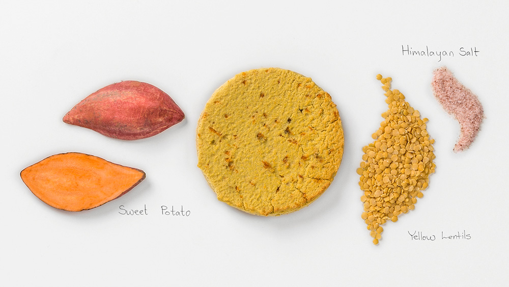Yellow Lentils-Sweet Potato Ingredients